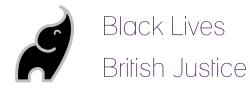 Black Lives British Justice logo